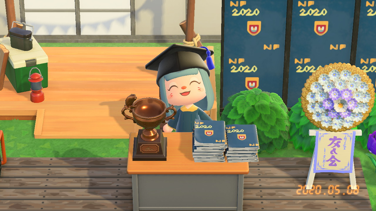 Animal Crossing Game Graduate Ngee Ann Polytechnic Covid 19 Covid crisis pandemic