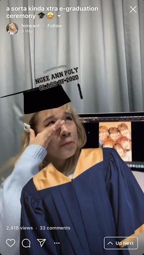 Ngee ann graduation covid 19 virtual friends